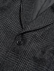Samsøe Samsøe - Grin coat 11122 - wool coats - black ch. - 2