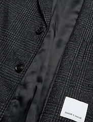 Samsøe Samsøe - Grin coat 11122 - wool coats - black ch. - 4