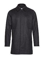 Kenpo x coat 4011 - DARK GREY MEL.