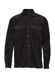 Waltones I overshirt 10520 - BLACK