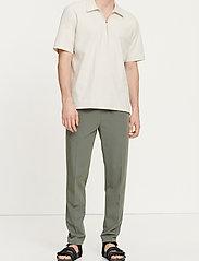 Samsøe Samsøe - Smithy trousers 10931 - spodnie na co dzień - thyme - 0