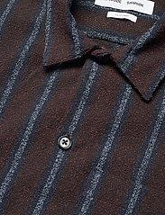Samsøe Samsøe - Taka JY shirt 12972 - chemises à carreaux - black coffee st. - 3