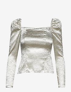 Nomie blouse 12734 - CHAMPAGNE SHINE