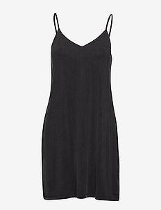 Krista slip dress 6202 - bodys & slips - black