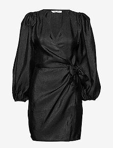 Magnolia short dress 11244 - BLACK