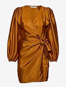 Magnolia short dress 11244 - omlottklänning - honey ginger