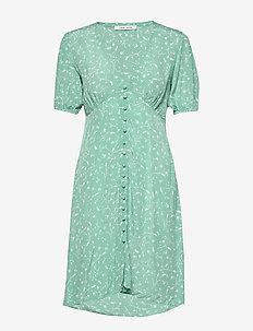 Petunia short dress aop 10056 - short dresses - feuilles menthe