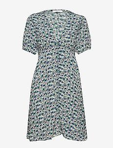 Petunia short dress aop 10056 - short dresses - forget me not
