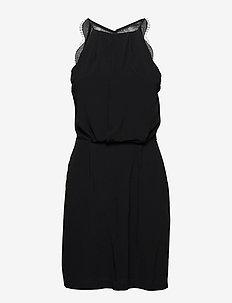 Willow short dress 5687 - korta klänningar - black