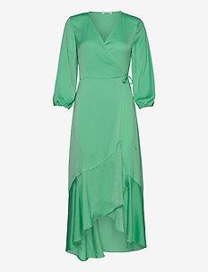 Esmee ss dress 12770 - midiklänningar - jade cream