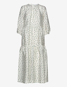 Mabelle dress aop 11244 - midi dresses - crocus