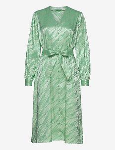 Saverine dress 12908 - midi dresses - jade cream