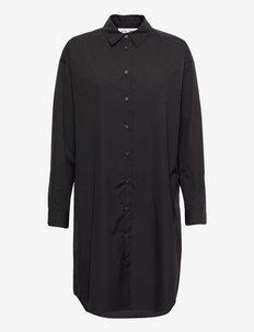 Luana shirt dress 11468 - sommerkjoler - black