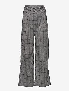 Mella pants 10595 - B/W CHECK