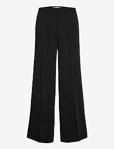Collot trousers 7331 - hosen mit weitem bein - black
