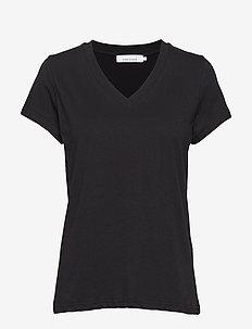 Solly v-n t-shirt 205 - t-shirts - black
