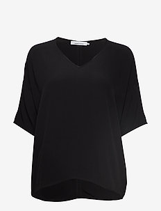 Mains v-neck ss 5687 - BLACK