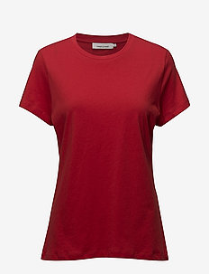 Solly tee solid 205 - RACING RED