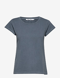 Liss ss gd 3174 - t-shirty basic - blue mirage