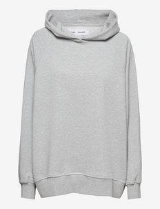 Lovis hoodie 10902 - sweatshirts & hættetrøjer - light grey mel.