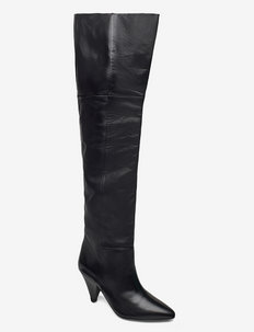 Myrassa boot knee 7556 - langskaftede - black