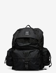 E Big Backpack 13052 - tasker - black