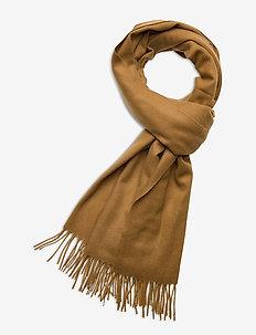 Accola maxi scarf 2862 - sjalar & halsdukar - dull gold