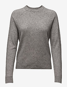 Boston o-neck 6304 - GREY MEL.