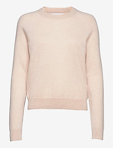 Boston o-neck 6304 - swetry - whisper white