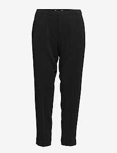 Hoys pants 6528 - raka byxor - black