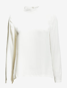 Theta t-neck 6891 - CLEAR CREAM