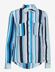 Milly shirt aop 7201 - BLUE LINE