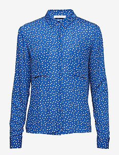Milly shirt aop 7201 - FLEUR AZUR