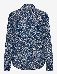 Milly shirt aop 7201 - blouses à manches longues - snowflake