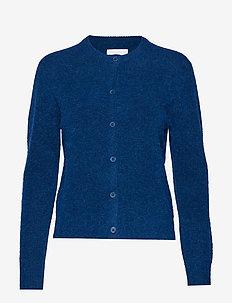Nor short cardigan 7355 - BLUE OPAL