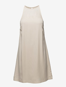 Bina s dress 6460 - kanten jurken - whitecap gray