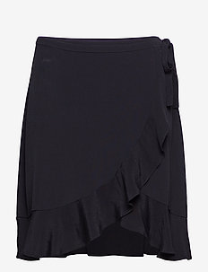 Limon s wrap skirt 6515 - BLACK