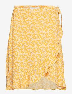 Limon s wrap skirt aop 6515 - ARANCIA