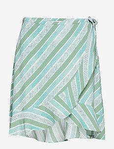 Limon s wrap skirt aop 6515 - OLIVETO