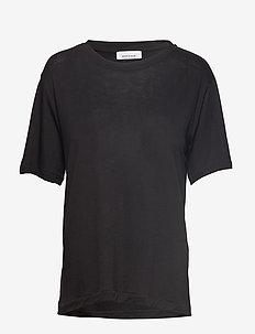 Uta ss 10172 - t-shirts - black