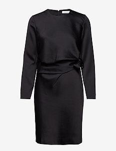 Hilda ls dress 10449 - BLACK