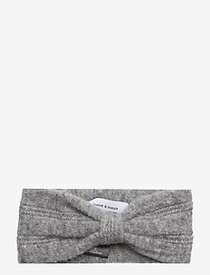 Nor headband 7355 - hiusasusteet - grey mel.