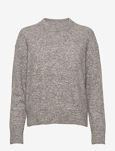 Anour o-n 7355 - neulepuserot - grey mel.