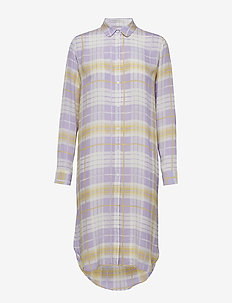 Rissy shirt dress aop 8083 - CHECKMEOUT