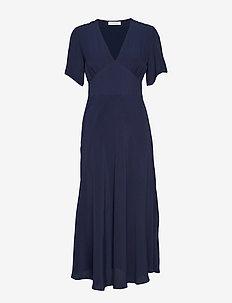 Cindy dress 10056 - DARK SAPPHIRE