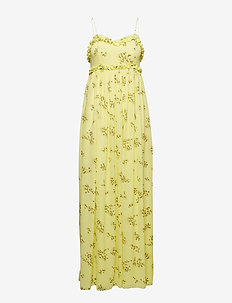 Way l dress aop 6891 - YELLOW BREEZE