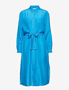Cora shirt dress 10756 - BLUE ASTER
