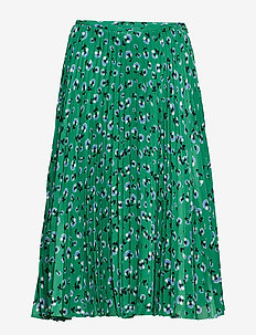 Juliette skirt aop 10798 - GREEN CARNATION