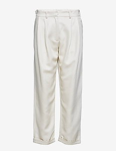 Delaun pants 10651 - raka byxor - sea salt