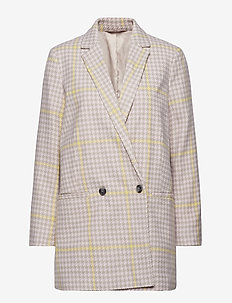 Ditte jacket 10660 - wool jackets - hushed ch.